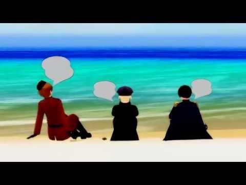 [Hetalia MMD] What? Ah, Yes. (Italy, Japan & Fem!Germany)