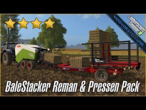 Pack Balestacker Reman and Baler v1.0.2 Fix And Particles