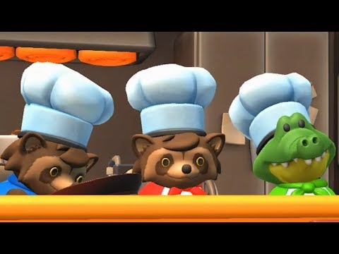When You're Short On Players For Overcooked 2, So You Play Two Characters At Once