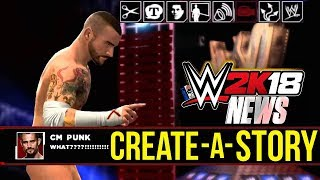 WWE 2K18 News: CREATE A STORY MODE & More! [#WWE2K18News]...Hit The LIKE! 👍🏼 & Turn ON Notifications🛎► Follow Me!• Twitter - https://twitter.com/MachoT_YT💪 JOIN ME! HELP ME REACH ➡️  50,000 ⬅️ SUBSCRIBERS!SUBSCRIBE! For WWE 2K Games + WWE News & Rumors!In this video I have News coverage of WWE 2K18, the next WWE Game...Join Me to be UPDATED on all News/Rumors/Info, & Announcements heading into the release of the game!► Popular Playlist! WWE 2K18 News Playlist:•https://www.youtube.com/playlist?list=PLNwYqsguvV_lyWfAx8roCEkkkaeJzxErjWWE 2K17 Hidden Features Full Playlist:•https://goo.gl/uBDPNiChannel Description:• All Things WWE & WWE 2K Games. Multiple News & Rumors Round-Up Episodes throughout the week, keeping you guys up to date on all the News & Rumors in Wrestling, leading up to Raw, Smackdown, NXT, & PPVs like Wrestlemania! Also WWE 2K17 Content & Upcoming WWE 2K Games, WWE 2K18 News!►For WWE News/Rumors & WWE 2K18 Content, Updates, & Tutorials • SUBSCRIBE! - https://www.youtube.com/c/DRsMachoTThank You For Watching!- Macho T
