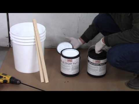 How To Apply WB-40 EPOXY