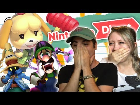 LITERALLY CRYING ABOUT ANIMAL CROSSING (Nintendo Direct 9/13 Reaction) (видео)