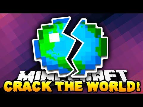 Minecraft - CRACK THE WORLD! (Best 1.8 Adventure Map!) w/ Preston & Kenny
