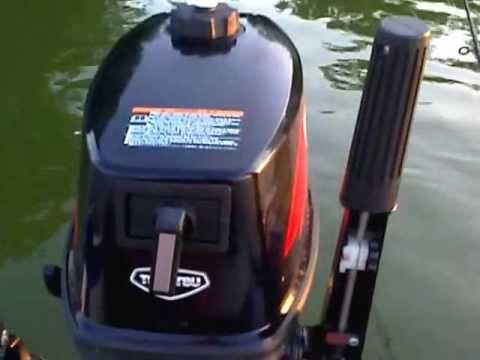 шумоизоляция лодочного мотора тохатсу 5 видео
