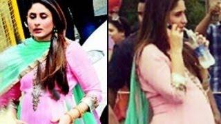 PREGNANT Kareena Kapoor's BABY BUMP Exposed