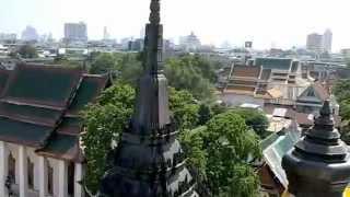 バンコク市内観光ロハプラサート