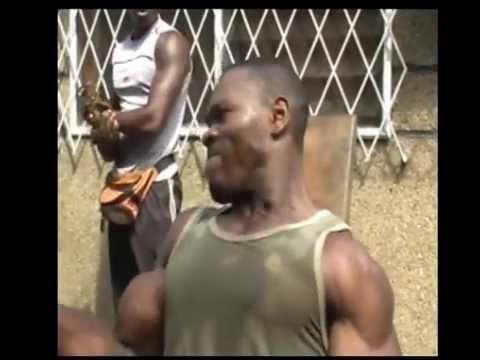 CONGO BODYBUILDER VEGA LUMIERE hardcore gym's workout