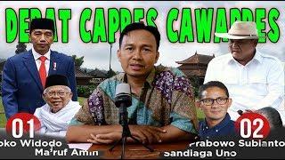 Video Menakar kemampuan debat Capres Cawapres Jokowi Makruf Amin dan Prabowo Sandiaga Uno MP3, 3GP, MP4, WEBM, AVI, FLV Januari 2019