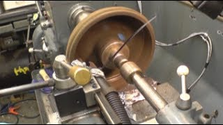 Machining a steam engine eccentric Steam clock in VancouverMore brake drums