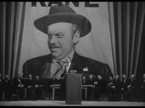 'Ciudadano Kane': escena del discurso
