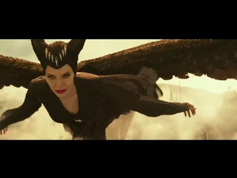 Maleficient final batlle/by death and transforming in a eagle