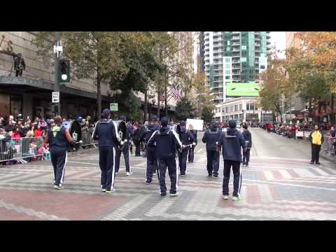 2013 Macy's Holiday Parade Featuring Salty's Seafood Grills Nutcrackers and the Blue Thunder