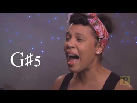 [HD] Shayna Steele Vocal Range (D3 - B♭6)