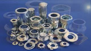Custom made cold forged fasteners youtube video