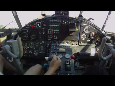 Cockpit video with Antonov An-2...
