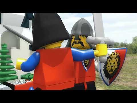 LEGO BATTLE - Royal Knights vs Dragon Knights - TEST