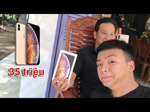 Đi Mua iPhone XS MAX Tặng Ba ( Give father iPhone XS MAX ) - Thời lượng: 11:36.