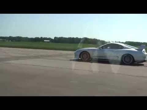 Supra blows engine racing BMW M6