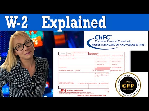 What's a W2 Form - W2 explained in 2020