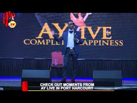 CHECKOUT MOMENTS FROM AY LIVE IN PORT HARCOURT (Nigerian Entertainment News)