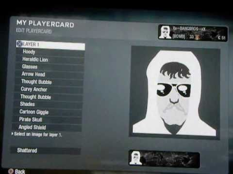BEST BLACK OPS EMBLEM EVER! (UNABOMBER)