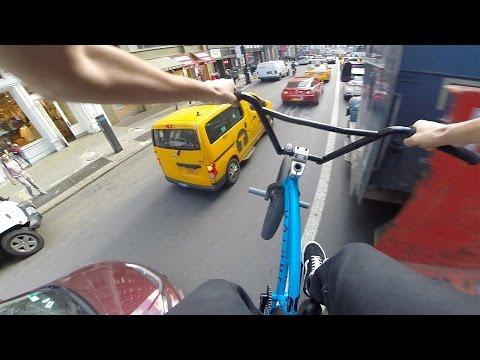 GoPro BMX Bike Riding in NYC 6 (видео)