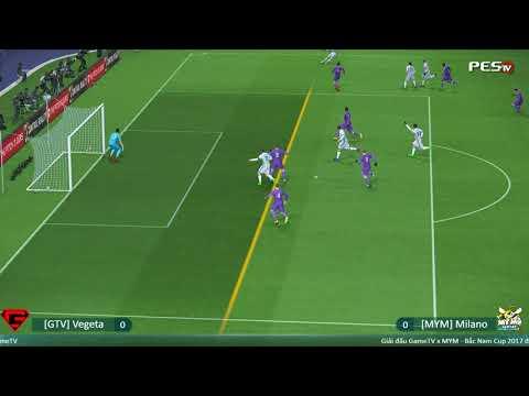 [GTV] Vegeta vs [MYM] Milano | GameTV x MYM - Bắc Nam Cup 2017