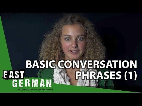 Easy German - Basic Conversation Phrases 1 (видео)