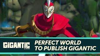 Видео к игре Gigantic из публикации: Анонсирован закрытый стресс-тест Gigantic