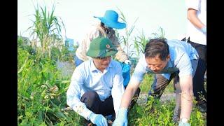 Lễ phát động Phong trào chống chất thải nhựa và hưởng ứng chiến dịch làm sạch cho Thế giới sạch hơn