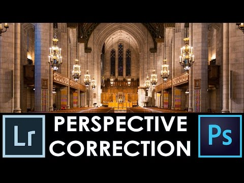 How to Remove distortion: Photoshop Perspective crop tool vs Lightroom Correction - Episode #7