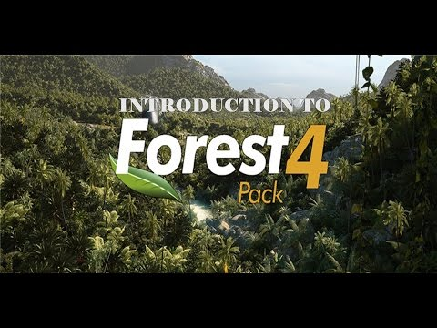 Introduction To Forest Pack Basics