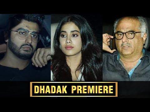 Dhadak Screening | Janhvi Kapoor, Khushi Kapoor, S