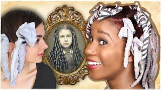 "Video I TRIED A WHlTE WOMAN'S ""Historical RAG Curls"" Tutorial | **SHOOK** MP3, 3GP, MP4, WEBM, AVI, FLV Agustus 2019"