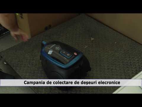 Campania de colectare de deșeuri electronice