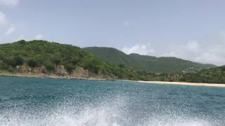 Sailing from Saint Martin to Anguilla: monsoondiaries.com.