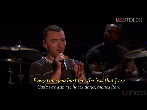 Sam Smith - Too Good At Goodbyes (Sub Español + Lyrics) (видео)