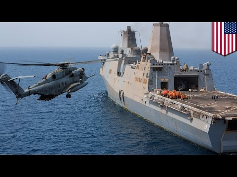 Falls - Twenty-five troops escaped with minor injuries after a helicopter carrying US Marines crashed at sea on Monday while attempting to land on an amphibious transport dock. Assigned to the 22nd...