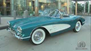 El Presidente de General Motors Subasta su Chevrolet Corvette 1958