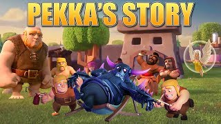 Video Clash of Clans Story - How the P.E.K.K.A was created & the Origin of the Builders! | CoC Fan Story MP3, 3GP, MP4, WEBM, AVI, FLV Oktober 2017