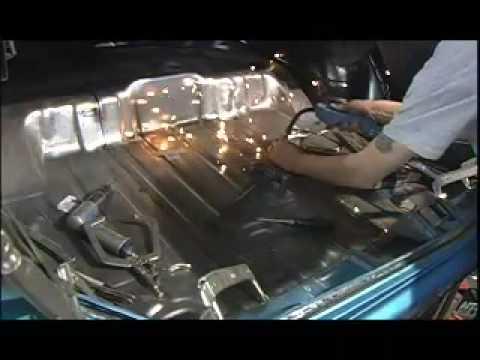 """1971 Olds """"S71"""" Trunk Floor & Wheelhouses V8TV"""