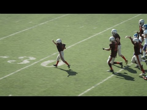 Watch This Heartful Touchdown By Grant A Wish Kid