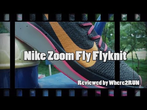 รีวิว Nike Zoom Fly Flyknit - Where2RUN