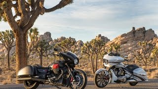 10. Moto Guzzi MGX-21 vs. Victory Magnum X-1 Two Opposing Angles to the Common Bagger Theme