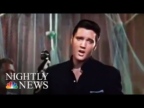 40 Years After Elvis Presley's Death, Fans Gather At Graceland | NBC Nightly News