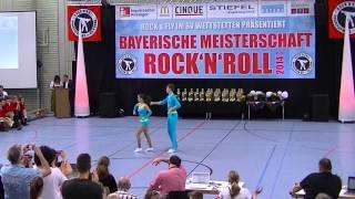 Lisa Stufler & Anton Zinsmeister - Bayerische Meisterschaft 2014