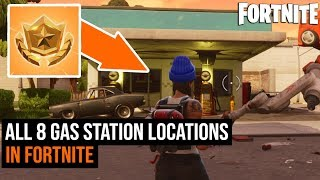 ALL 8 Gas Station Locations in Fortnite - Season 3 Challenges