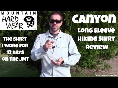 Mountain Hardwear Canyon Long Sleeve Shirt Review