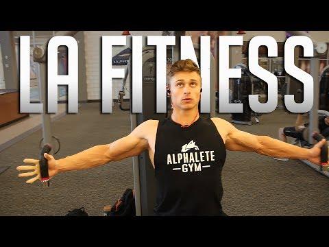CHANGE OF SCENERY  LA Fitness Push Workout
