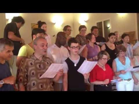 Dondi choir - Nehemiah H. Brown Celebration Gospel Choir Emilia Romagna Workshop sponsored by